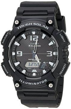 Casio Men's AQ-S810W-1AV Solar Sport Combination Watch  #AQS810W1AV #Casio #Combination #Men's #Solar #Sport #Watch MonitorWatches.com
