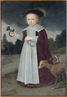 Harmen Willems Wieringa, portrait of Eelko Ferdinando van der Laen, 2 1/2 years old, 1636 - Leeuwarden, Fries Museum