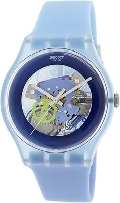 Swatch-Womens-Originals-SUOS100-Blue-Rubber-Swiss-Quartz-Watch