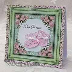 Gallery | Pink Baby Booties - Heartfelt Creations