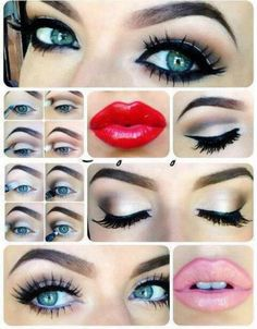 Beautiful Makeup Ideas with Eye Make up Tutorials with chose the heading for this eye makeup unique eye makeup because this Beauty Make-up, Beauty And Fashion, Beauty Hacks, Hair Beauty, Beauty Tips, Beauty Products, Beauty Secrets, Style Fashion, Eye Makeup