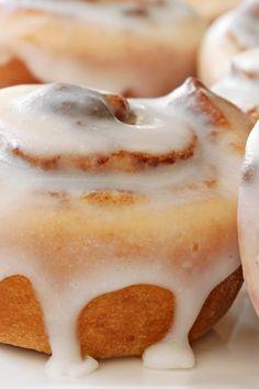 Hazelnut Cinnamon Rolls Recipe