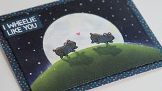 Video: How to create a night scene with Distress Inks | #CardMaking #PaperCrafts #HowTo