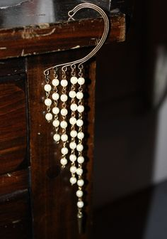 Love this Look / Pearl Spike Ear Cuff - Statement - Trend Uncovet