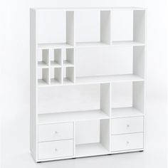 Spring Street Bookcase Low Shelves, Open Shelving, Colored Dining Chairs, Drawer Fronts, Office Furniture, Storage Spaces, Bookcase, Drawers, Interior