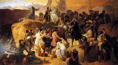 La sed de los primeros cruzados en Jerusalén 1833-50