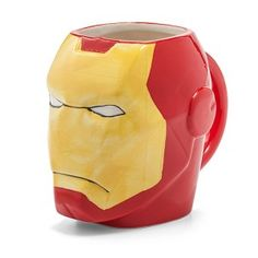 Iron Man Molded Mug from ThinkGeek. Shop more products from ThinkGeek on Wanelo. Mugs For Men, Office Decor, Iron Man, Tea Cups, Coffee Mugs, Marvel, Travel Mugs, Fun Stuff, Awesome