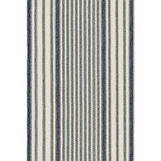 Mattress Ticking Woven Cotton Rug - Dash & Albert