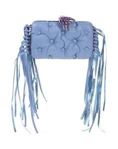 BENEDETTA BRUZZICHES Handbag. #benedettabruzziches #bags #leather #clutch #hand bags #