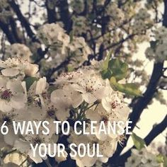 6 Ways to Cleanse Your Soul