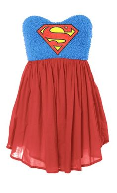 Superman dress  @Laiken Blair Blair Blair Olivier