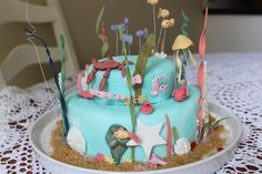 Under the sea Mermaid Party Cake