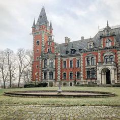 Ballestrem Family Palace from XIX century. Plawniowice - Poland