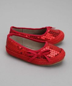 Modern Kids fashion - Red Raspberry Ballet Flat by 2 Scoops Shoes
