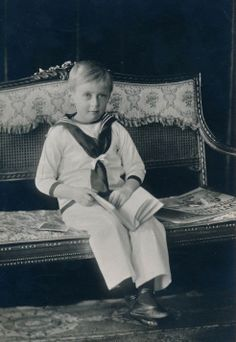 Crown Prince Olav of Norway (later King Olav V)
