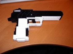 Make a real working LEGO rubberband gun!!!