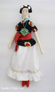 Frida Khalo por Estrella & dolls
