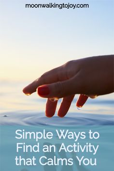 #breathing #calm #simplicity #intentionality #vacation #activity #mindfulness #beingvsdoing #slowingdown #Is there an activity that calms you? The most calming activities are simple: Breathing, watching the sun go down, stroking your lover's arm.