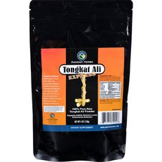 Black Seed Tongkat Ali Raw Powder - 4 Oz