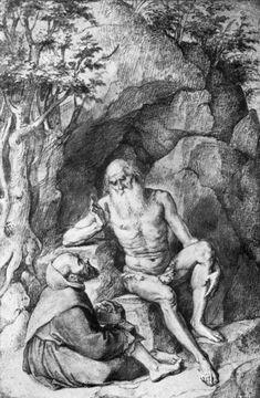 St. Onufrij Instruct Monk by @artistrubens #baroque