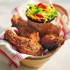 A Hundred Oven Fried Chicken Recipes In One