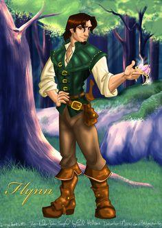 Disney Hunks 5 - Flynn Rider by hollano on DeviantArt Tangled Rapunzel, Disney Tangled, Disney Art, Disney Princess, Flynn Rider, Man Images, Human Anatomy, Halloween Costumes, Fan Art