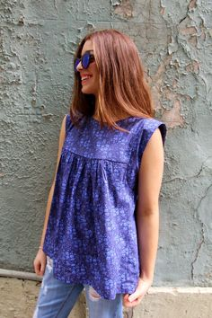 Our latest pattern - The Alice Dress/Top