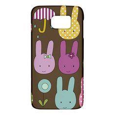 Bunny++Samsung+Galaxy+S6+Hardshell+Case+