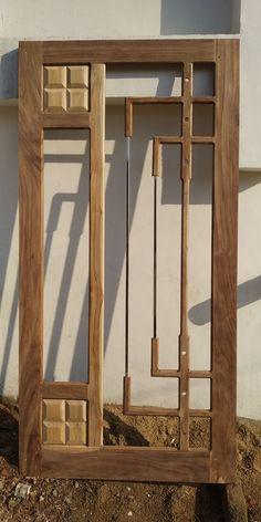 Main Entrance Door Design, Wooden Main Door Design, Door Gate Design, Room Door Design, Door Design Interior, Wood Entry Doors, Wooden Front Doors, Wooden Glass Door, Flush Door Design