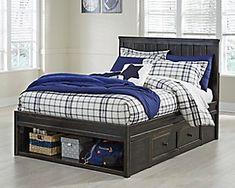 Jaysom Black Twin Panel Bed With Underbed Storage Adams Furniture, Bedroom Furniture Sets, Bed Furniture, Bedroom Sets, Bedding Sets, Comforter, Furniture Ideas, Wolf Furniture, Bedrooms