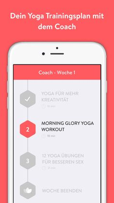 Mehr Motivation mit dem Yoga Coach