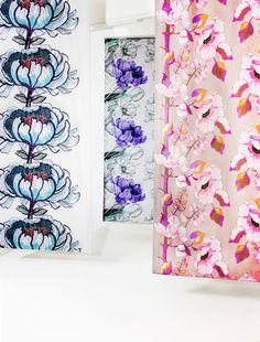 Vallila - Isadora, Jardin and Silkkisuukko fabrics