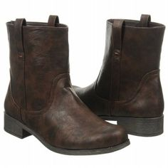 """XOXO """"Soho"""" brown ankle boots. #winterboots"""