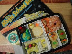 Loving Lunches: Science Week Solar System Bento The Magic School Bus Lunch