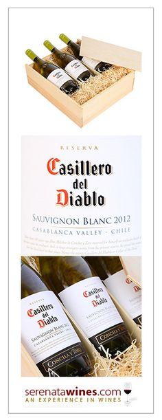 2012 Casillero del Diablo Reserva Casablanca Sauvignon Blanc, 3 bottles, standard price: £42.99 #sauvignonblanc #chilewine #wine #gift