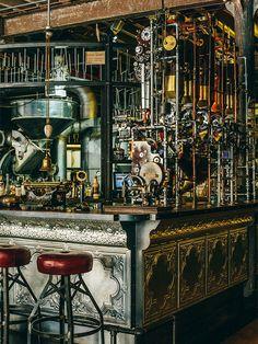Un café au design atypique en Afrique du Sud : le Truth Coffee Shop
