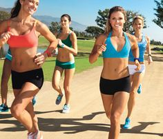 The Cardio Workout: You'll get 10 full weeks' worth of effective cardio and toning workouts, all mapped out for you by Katrina Hodgson and Karena Dawn, your Drop 10 trainers (at left).    You choose which days to do your high-intensity interval training (aka HIIT), and for every two intense workouts, you're rewarded with a take-it-easy day—not to mention a hotter-by-the-day-bod. Read on for the rest of your Drop 10 workout plan—plus, a sample week of HIIT routines.