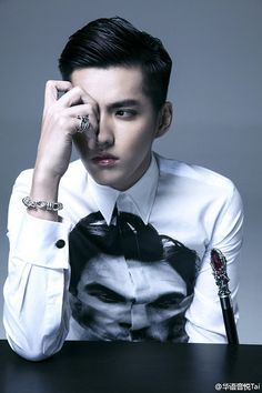 WU YI FAN--- crap! He is REALLY good looking.
