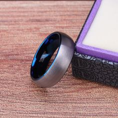 This classic brushed tungsten carbide band featuring a bright blue colored interior in a brushed silver finish. This luxurious blue tungsten ring is perfect to use for marriage or a dressy piece of upscale jewelry. Nigeria Travel, Kenya Travel, Iran Travel, Peru Travel, Canada Travel, Estonia Travel, Romania Travel, Hungary Travel, Portugal Travel