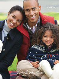 I want to be this Brooks Brothers African American family
