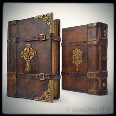 Custom ordered The Rosicrucian journal... ...10 x 7 inches; special parchment paper; 400 pages; brass cornering; straps; hand carvings; gilding; etc. _________ http://www.alexlibris-bookart.com