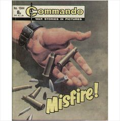 COMMANDO COMIC NO 1044 1976 TILLEYS of SHEFFIELD