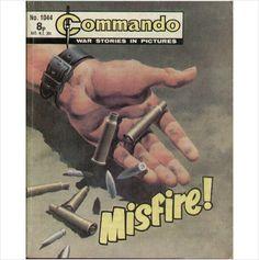 COMMANDO COMIC NO 1044 1976 TILLEYS of SHEFFIELD