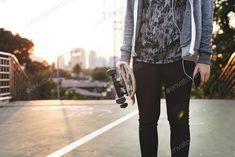 Skatboarder Lifestyle Playful Park Concept photo by Rawpixel on Envato Elements
