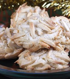 ITALIAN MACAROONS --      The holiday cookie that people beg me to make every year -- chewy, nutty macaroons laden with lovely almond paste.  Only 4 ingredients