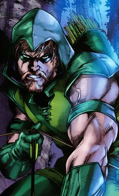 Green Arrow  by Diogenes Neves