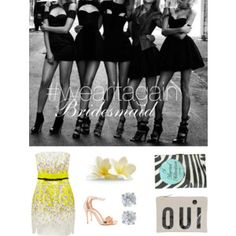 Designer Clothes, Shoes & Bags for Women Bridesmaid, Shoe Bag, Polyvore, How To Wear, Shopping, Collection, Design, Women, Maid Of Honour