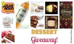 A giveaway packed full of desserts!