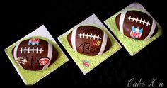 Gâteau en ballon de football pour le Superbowl !!!