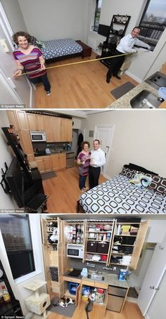 8 Most Amazing Tiny Homes... If we had to live in any of these..I'd go crazy!
